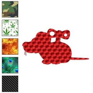 Wind Up Toy Mouse Decal Sticker Choose Pattern Size #748