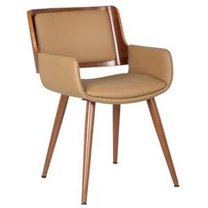 Porthos Home SKC005A NAT Finnick Dining Chairs with Wooden Open Back Solid...