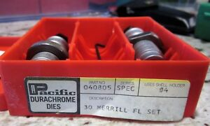 Hornady Pacific Durachrome Used Die Set in 30 Merrill caliber