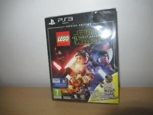 Lego Star Wars The Force Awakens Special Edition - New Sealed - PS3 pal