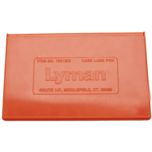 Lyman Case Lube Pad-Large Cloth Lubricating Pad in Case