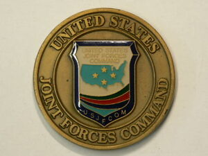 Challenge Coin US Joint Forces Command Command Surgeon 50mm 49g #G7829