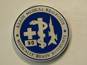 Challenge Coin Command Surgeon Medical Reservists 38mm 43.8g  #G7822