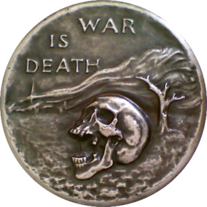 Society of Medalists 1950 42nd Peace is life War Is Death CECIL HOWARD SCULPTOR
