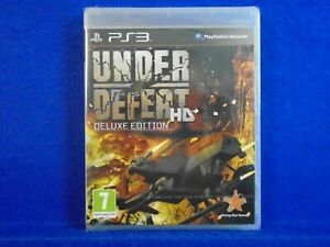 ps3 UNDER DEFEAT HD Deluxe Edition New & Sealed SHMUP PAL English REGION FREE