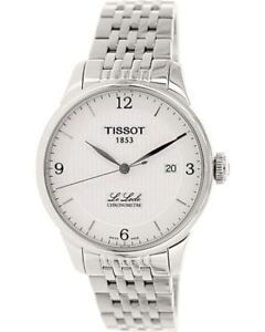 Tissot Men's Le Locle T006.408.11.037.00 Metallic Silver Stainless-Steel Pl