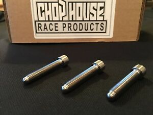 (100) Titanium  14-28 Bullet Nose Studs For Go Karts And Quarter Midgets