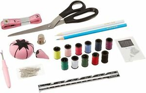NEW 130 Pieces Beginners Basic Sewing Kit With A Reusable Storage Box By Singer $14.64