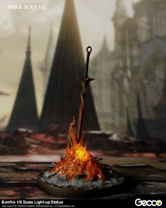 Dark Souls  Bonfire 16 Scale Light-up Statue Figure Preorder