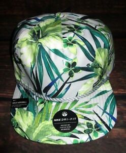 MENS HURLEY NIKE DRI-FIT TROPICAL FLORAL HAT SNAPBACK CAP ONE SIZE