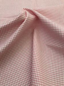 Petite Gingham Pink Fabric 2 YARD PIECE 56quot;Wide