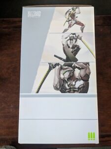 Blizzard Overwatch: Genji Statue 11.75 Inch Polystone Hand Painted - New in Box