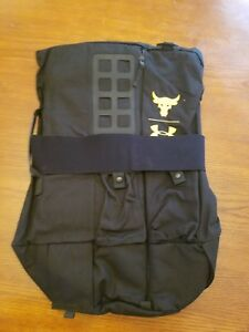 NWT Under Armour The Project Rock 90 Gym Duffle Big Bag UA Backpack LTD Edition