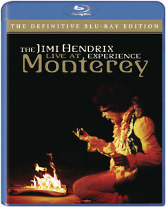 The Jimi Hendrix Experience: Live At Monterey BLU-RAY NEW