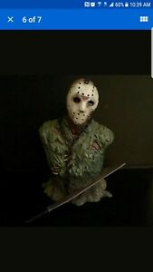 NECA Friday The 13th Jason Voorhees Resin Mini Bust Rare