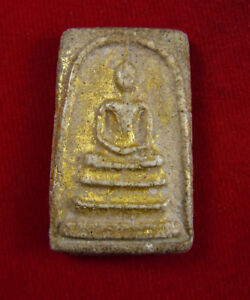 Antique Phra somdej wat rakang LP TOH Thai magic amulet buddha lucky pendant