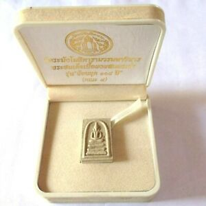 Model 108 TH Buddha Phra Som Dej 3 Tier Base Wat RaKang Powerful Money Amulet