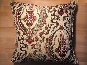 Handmade Traditional Turkish Kilim Fabric CushionPillow (Multicolor) 16