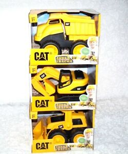 New Set of 3 CAT Tough Tracks Construction ExcavatorFront-end LoaderDump Truck