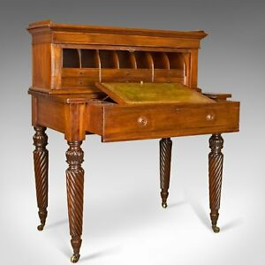 Antique Writing Desk William IV Bonheur Du Jour A Solomon Circa 1835