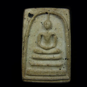 Old Phra Somdej LP TOH Wat Rakang Phim Yai Thai Antiques Amulet Pendant Magic