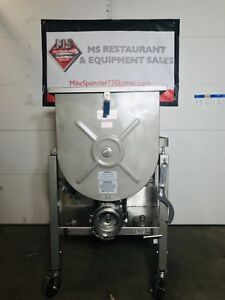 2013 Hollymatic GMG180A #52 Stainless Mixer Grinder 10hp (FULLY REFURBISHED)