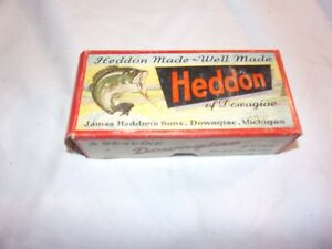 Vintage Heddon Meadow Mouse Fishing Lure 3