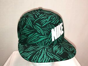 NWT NIKE TRUE SNAPBACK HAT TROPICAL STORM FLORAL ADULT UNISEX ONE SIZE FITS MOST