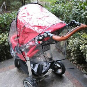 Baby Universal Stroller Rain Cover Waterproof Wind Dust Shield Pushchair Cover