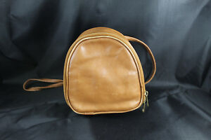Hobo International Vintage Brown Leather Small Convertable Purse to Backpack Bag