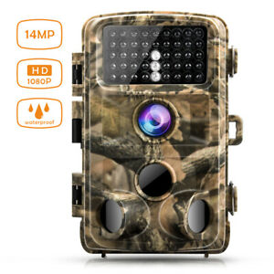 Campark 14MP Trail Game Camera 1080P Video Hunting Night Vision Trail Cam Trap