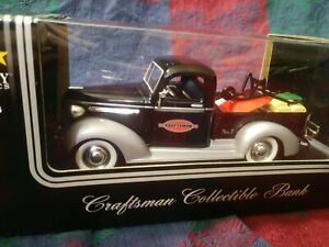 Liberty Classics 1939 Chevy Pickup Truck Craftsman Die Cast Bank LIMITED EDITION $42.00