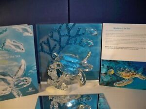 SWAROVSKI SCS 2006 WONDERS OF THE SEA ETERNITY COLOR VERSION 684266 MIB COA