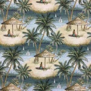 Tropical Cancun Tapestry by Regal  Upholstery Fabric  54
