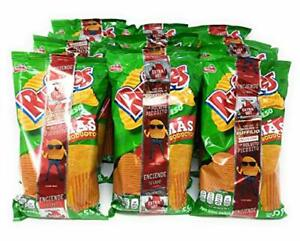 MEXICAN Sabritas Ruffles Queso Bundle of 12 Bags 1.94oz FREE SHIPPING WHOLESALE