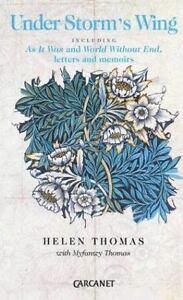 Under Storms Wing: By Helen Thomas Myfanwy Thomas $24.21