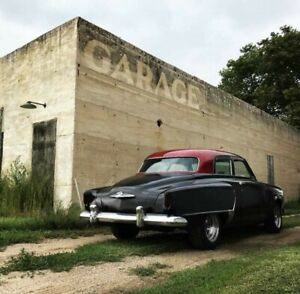1952 Studebaker commander Flat Black with Cherry Red Roof 75000 Miles Amazing