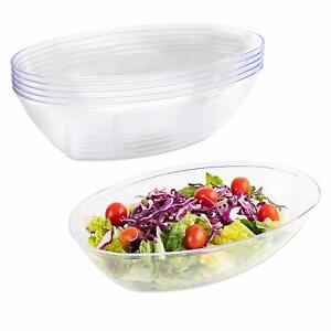 Impressive Creations Plastic Salad Bowl | 80 Oz.