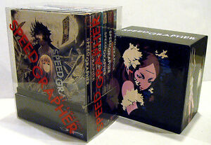 SPEED GRAPHER Complete Series Limited Edition Box Set Vol 1 2 3 4 5 6 RARE New*