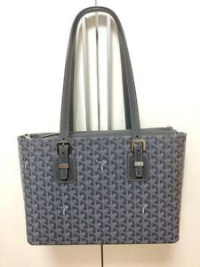 GOYARD Tote Bag Gray Canvas Leather Paris Limited Woman Auth New Unused Rare
