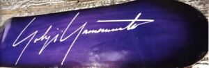 YOHJIYAMAMOTO Skateboard purple Outdoor Sports goods unused rare from japan 2L