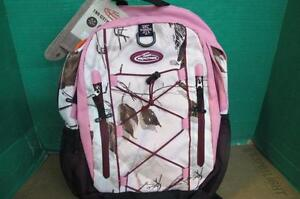TEAM REALTREE R3326-10-BPS MEDIUM 2 COMPARTMENT LAPTOP BACKPACK PINK CAMO $100