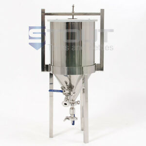 Sold 1! 2 Left! Stout Tank's Stainless Steel Conical Fermenter for Homebrewers