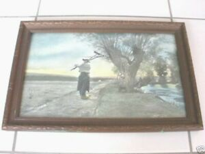 VINTAGE EMILE ADAM SIGNED ART PAINTING