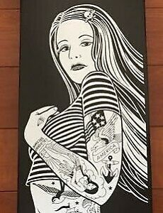 REBEL 8 skateboard autographed deck limited 300 very rare goods from japan 2W