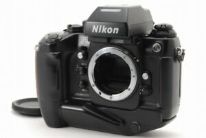 Nikon F4S SLR Film Black Camera w MB-21 From Japan #304