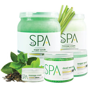 BCL SPA ORGANIC - Pedicure Lemongrass + Green Tea 128 oz - Choose Your Favorite