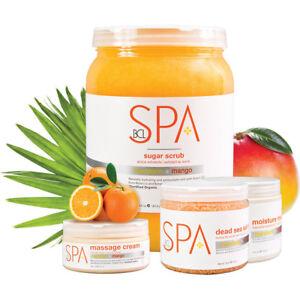 BCL SPA ORGANIC - Pedicure MANDARIN + MANGO  (128 oz) - Choose Your Favorite