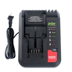 20V Charger PCC692L for Porter Cable & Black+Decker 20V MAX Lithium Ion Battery