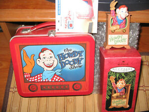 HALLMARK HOWDY DOODY LUNCHBOX & KEEPSAKE Ornament Anniversary Edition 1997 & 98!
